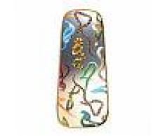 SELETTI specchio da parete MIRRORS GOLD FRAME TOILETPAPER L 62 x H 140 cm (Snakes - Vetro, MDF e ottone)