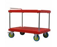 Carrello di servizio per carichi pesanti, lungh. x largh. 1200 x 800 mm, portata 1000 kg
