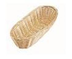 Cestino per pane ovale in Rattan Dimensioni mm. L 230 x P 100 x 60 h Modello 2857