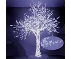 Albero Di Natale Luminoso Con 2832 Led Bianco Freddo 300xh300cm Ad...
