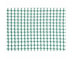 Rete Quadra Da Giardino 10mm In Plastica 1x30m Rama Mirror Verde...