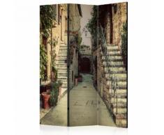 Paravento 3 Pannelli - Tuscan Memories 135x172cm Erroi...
