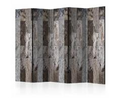 Paravento 5 Pannelli - Marble Mosaic Ii 225x172cm Erroi...