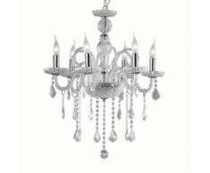 Lampada A Sospensione 2 X 3w Led Ideal Lux Trasparente...