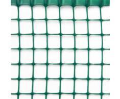 Rete Quadra Da Giardino 20mm In Plastica 1x30m Rama Mirror Verde...