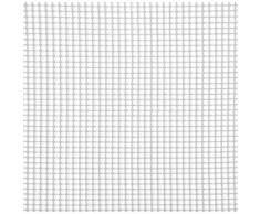 Rete Quadra Da Giardino 5mm In Plastica 1x30m Rama Mirror Bianco...