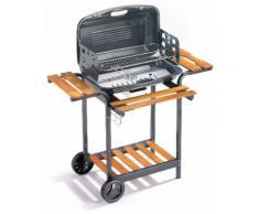 Barbecue A Carbone Carbonella In Acciaio Ompagrill 60-40 Saturno/rcn
