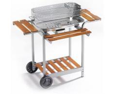 Barbecue A Carbone Carbonella In Acciaio Inox Ompagrill 60-40/pro/...