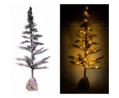 Albero Di Natale Luminoso Con Led E Pigne In Pvc H170cm Adami Juta...