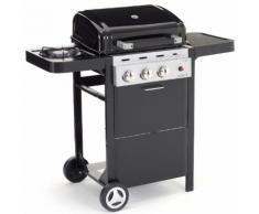 Barbecue A Gas 2 Bruciatori Con Fornello Laterale Sochef Piùgusto