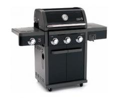 Barbecue A Gas 3 Bruciatori Con Fornello Laterale Sochef Grangusto...