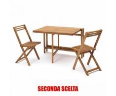 Tavolo Pieghevole In Legno Salvaspazio Per Esterno Balcone Giardin...