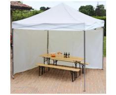 Gazebo Pieghevole Da Giardino In Alluminio 3x3m Vorghini Flexible ...
