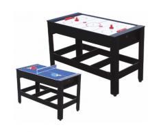 Tavolo Da Gioco 2 In 1 Air Hockey E Ping Pong Miller...