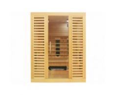 Sauna Infrarossi 3/4 posti VALENS - L150xl110xH190 cm - 2100W