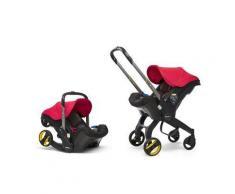 Seggiolino Auto Doona+ e Passeggino 2-in-1 - Simple Parenting - Flame Red