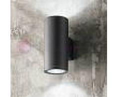 Perenz Srl Opus Lampada A Parete 2 Luci Faretto Moderno Tondo Gu10 Illuminazione Esterno Ip54