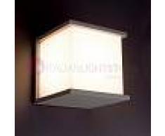 Faro Kubick Lampada A Parete Quadrata Da Esterno Design Moderno Ip44