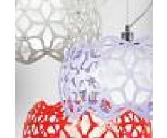 Lam Export Deco' Lampada A Sospensione Metallo Colorato Design Moderno