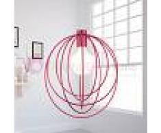 Lam Export Morgana Lampada Sospensione Gabbia Colorata Design Moderno