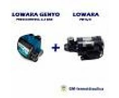 Kit Autoclave Elettropompa Periferica Lowara Pm 16 0,4 Hp 0,3 Kw + Press Control Lowara Genyo 8a/f22 2,2 Bar