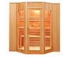 Sauna Tradizionale Finlandese in Abete 5 posti Ten 200 x 208