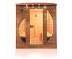Sauna infrarossi 4 posti con emettitori combinati al Quarzo e Magnesio Spectra