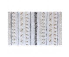Tappeto lana e paillettes 160x230 cm LENITY