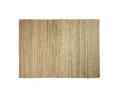 Tappeto di colore naturale in iuta misura 200x300 cm modello GUNNY