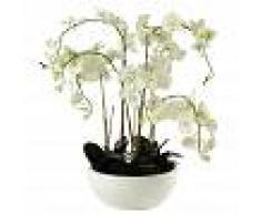 Maisons du Monde Orchidea artificiale in vaso H 98 cm FLORA