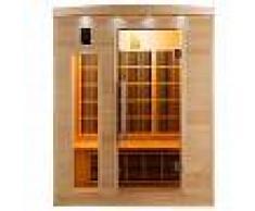 Sauna raggi infrarossi a 3 posti Timo