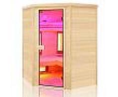 Sauna ad infrarossi angolare al Quarzo e Magnesio Wave