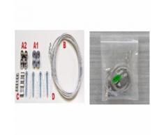 Kit sospensione per pannelli led