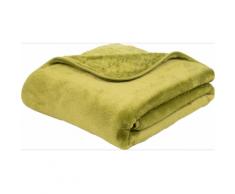 Gözze Premium Cashmere Feeling Coperta 180 x 220 cm poliestere microfibra verde lime 40128-80-180220