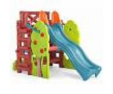 Milani Home BOSCO - scivolo da giardino per bambini con struttura