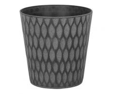 Vaso per piante in color grigio scuro ⌀35 cm LAVRIO