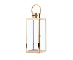 Lanterna ottone 40 cm CYPRUS