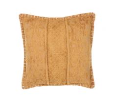 Cuscino decorativo 45 x 45 cm giallo KAVALAM