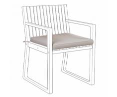 Cuscino per sedia da giardino Taupe SASSARI