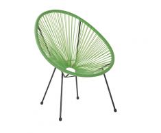 Sedia stil spaghetti verde ACAPULCO II