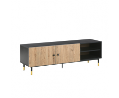 Mobile TV nero/legno ABILEN