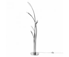 Lampada da terra a LED argento ARYS