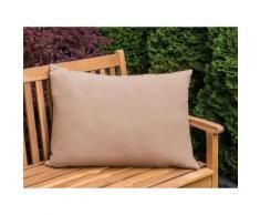 Cuscino da giardino color caramello 50x70 cm