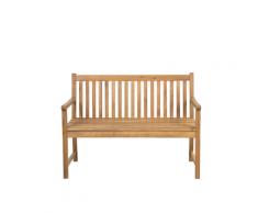 Panchina da giardino in legno di acacia 120 cm VIVARA