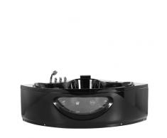 Vasca idromassaggio angolare nera 150 cm TOCOA