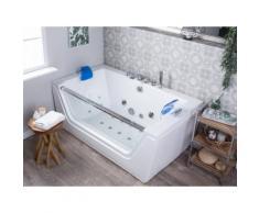 Vasca da bagno idromassaggio con LED FRIGATE
