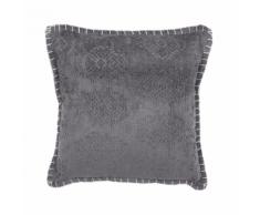 Cuscino decorativo 45 x 45 cm grigio MELUR