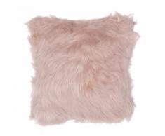 Cuscino decorativo 42 x 42 cm rosa LUBHA
