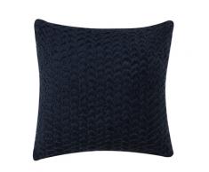 Cuscino decorativo 45 x 45 cm azzurro MEMURI