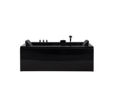 Vasca da bagno idromassaggio versione destra color nero VARADERO